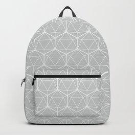 Icosahedron Soft Grey Backpack