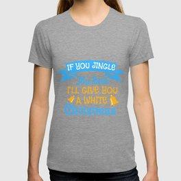 Bells Dirty Christmas Gift Shirt T-shirt