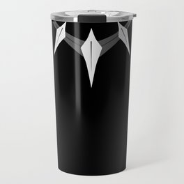 Black panther necklace Travel Mug