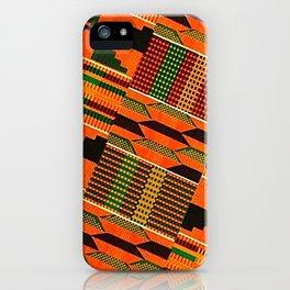 Kente iPhone Case