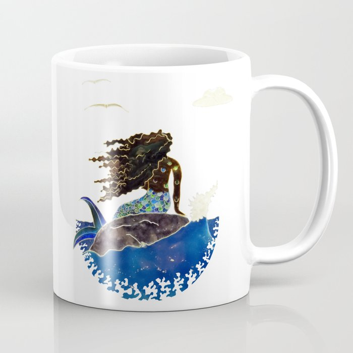 Lady of the Atlantic Crossing Coffee Mug