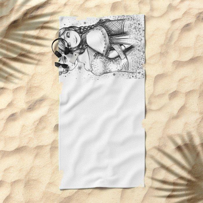 Do You Want To Build A Snowman Beach Towel