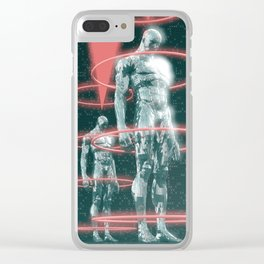 Stasis Conditioning Clear iPhone Case