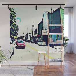 Street Scene No. 1 Wall Mural