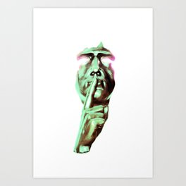Secrets 3hree Art Print