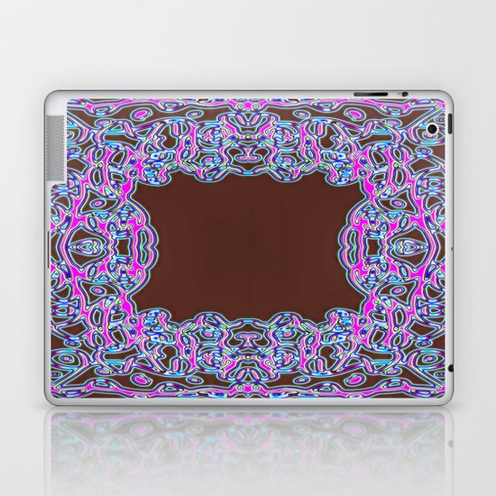 In The Pink Colorfoil Bandanna Laptop & iPad Skin