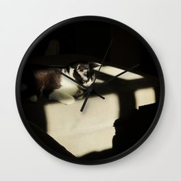 Pondering the Meaning of Life Wall Clock
