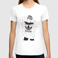 michael scott T-shirts featuring Scott by Les Gutiérrez