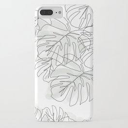 Botanical Line Drawing iPhone Case