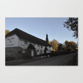 Thatch Old Devonshire Pub Canvas Print