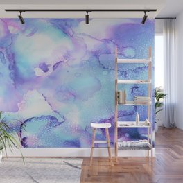 Soft Fluid Clouds Wall Mural