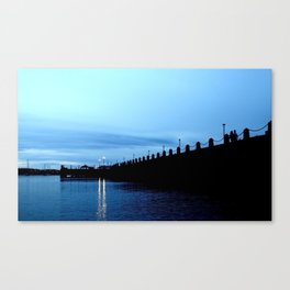 Blue Sky, Blue Water Canvas Print