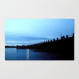 Blue Sky, Blue Water Canvas Print