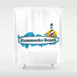 Hammocks Beach State Park. Shower Curtain