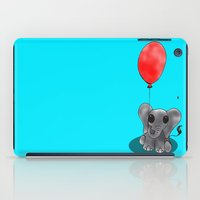 ballon iPad Cases featuring Look At My Ballon by Alexandra Sutherland