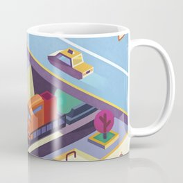 City traffic Coffee Mug