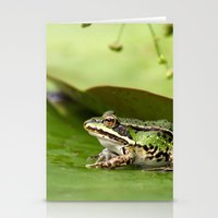 frog Stationery Cards featuring Frog by Jana Behr