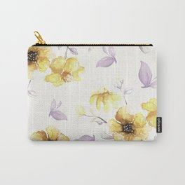 FLOWERS WATERCOLOR 27 Carry-All Pouch