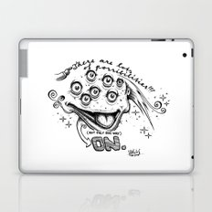 On Laptop & iPad Skin