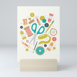 Get Crafty Mini Art Print