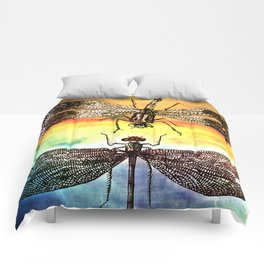 DRAGONFLY meets a Friend Comforters