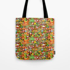 In Christmas melt into the crowd and enjoy it Tote Bag