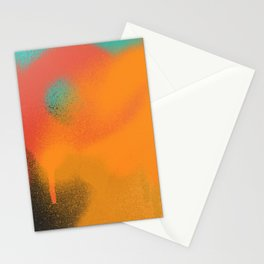 Color Test: Fun with Paint 3 Stationery Cards