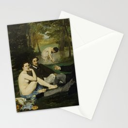 Edouard Manet - Luncheon on the Grass Stationery Cards