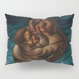 African-American Masterpiece 'Spiritual'  - Prayer for the Departed by Charles White Pillow Sham