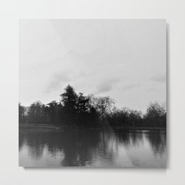 Nature, landscape and twilight 8 Metal Print