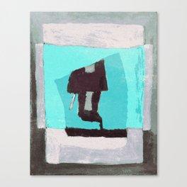Trenchcoat Canvas Print
