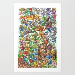Smashing Good Times Art Print