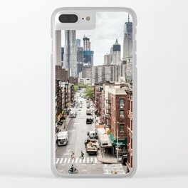 New york City USA Clear iPhone Case