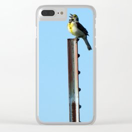 Beauty and the Barbwire Clear iPhone Case