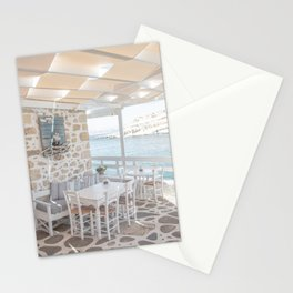 Summer In Greece Photo | Sea View Interior Design Crete Island Art Print | Europe Travel Photography Stationery Cards