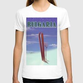 Bulgaria Ski poster T-shirt