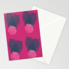 Chrysanthemum and Ferns Stationery Cards
