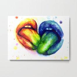 Taste my color Metal Print