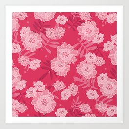 What in Carnation?! Art Print
