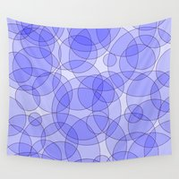 bubbles Wall Tapestries featuring Bubbles by Harvey Warwick