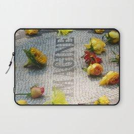 Imagine at Strawberry Fields Laptop Sleeve