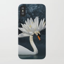 Tribal Swans iPhone Case