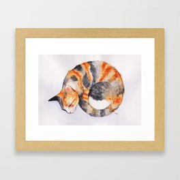Idle Thinking Framed Art Print
