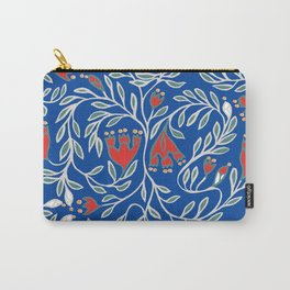swedish christmas blue Carry-All Pouch