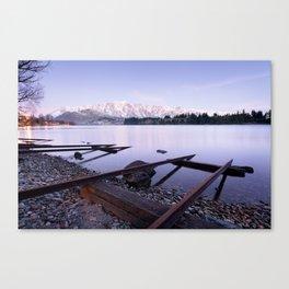 Lake Wakatipu - Queenstown - New Zealand Canvas Print