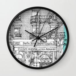PORTO RICO IMPORT CO, NYC Wall Clock