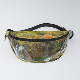 Plitvice Lakes National Park in Autumn Fanny Pack