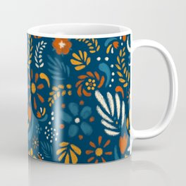 A Field of Chalk Flowers Coffee Mug