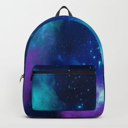 Violet And Blue Planetary Nebula - Fantasy Galaxy Space Backpack