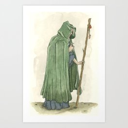 The Crone  Art Print